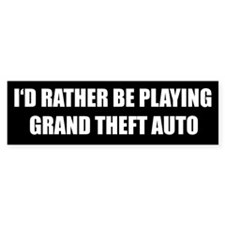 GTA Bumper Bumper Stickers