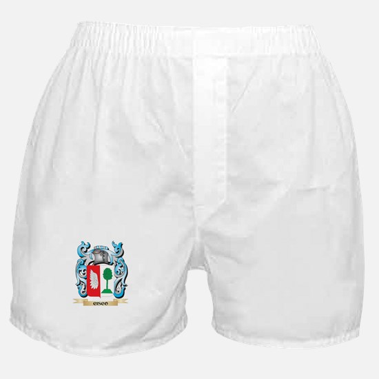 Cisco Coat of Arms - Family Crest Boxer Shorts