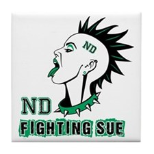 Fighting Sue Tile Coaster