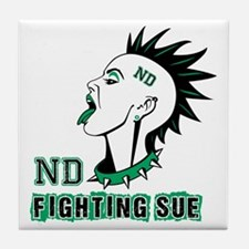 Fighting Sue Tile Coaster