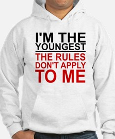 I'M THE YOUNGEST, THE RULES DON' Hoodie