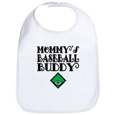 Mommys Baseball Buddy Bib