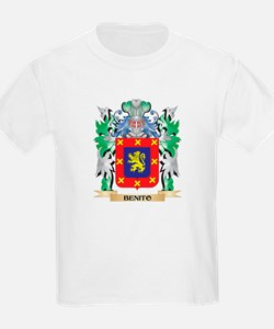 Benito Coat of Arms - Family Crest T-Shirt