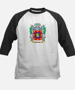 Benito Coat of Arms - Family Crest Baseball Jersey