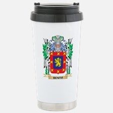 Benito Coat of Arms - F Travel Mug