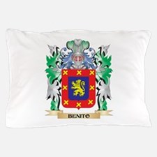 Benito Coat of Arms - Family Crest Pillow Case