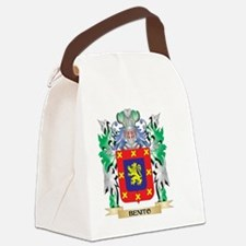 Benito Coat of Arms - Family Cres Canvas Lunch Bag