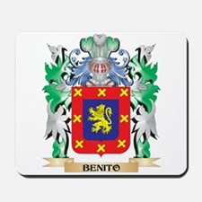 Benito Coat of Arms - Family Crest Mousepad