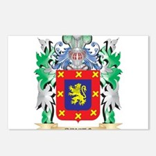 Benito Coat of Arms - Fam Postcards (Package of 8)