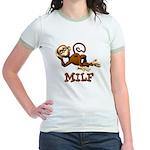 MILF Monkey Jr. Ringer T-Shirt
