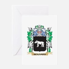 Benjamins Coat of Arms - Family Cre Greeting Cards