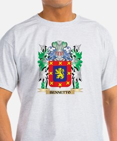 Bennetto Coat of Arms - Family Crest T-Shirt