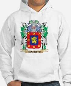 Bennetto Coat of Arms - Family C Hoodie