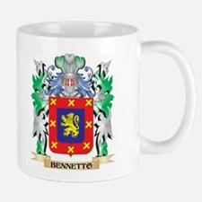 Bennetto Coat of Arms - Family Crest Mugs