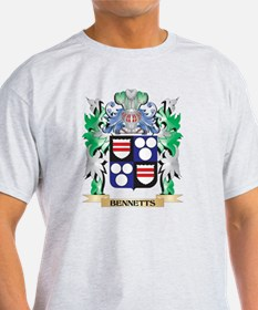 Bennetts Coat of Arms - Family Cres T-Shirt