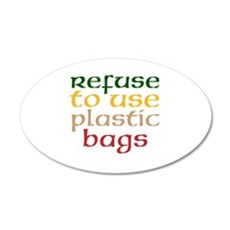 Plastic Bags Wall Decal