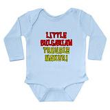 Bulgarian baby Long Sleeves Bodysuits