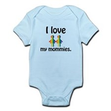 I love my mommies Body Suit