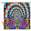 Trippy Visuals Shower Curtain
