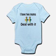 I have two moms, deal with it. Body Suit