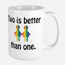 Two is better than one Mugs
