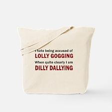 LOLLY GOGGING Tote Bag