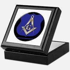 Freemasons Thin Blue Line Keepsake Box