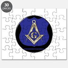 Freemasons Thin Blue Line Puzzle