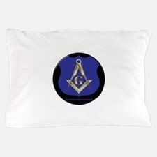 Freemasons Thin Blue Line Pillow Case