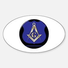 Freemasons Thin Blue Line Decal