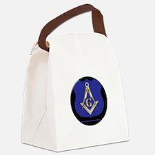 Freemasons Thin Blue Line Canvas Lunch Bag