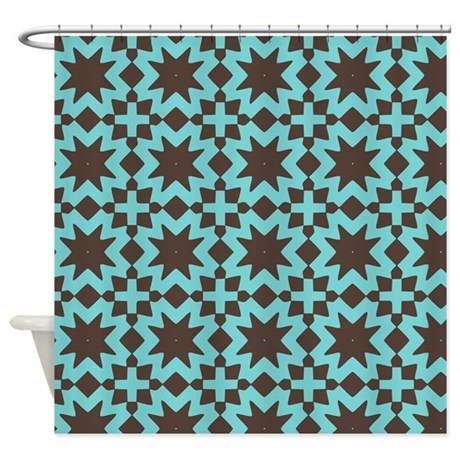 cute adorable floral pattern gifts shower curtain by