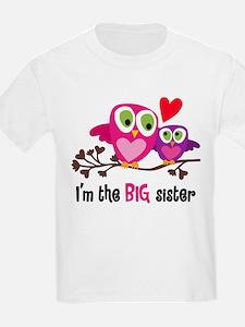 Big Sister Owl T-Shirt
