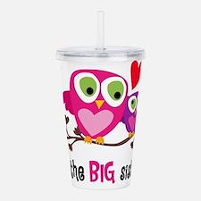 Big Sister Owl Acrylic Double-wall Tumbler