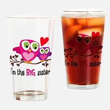 Big Sister Owl Drinking Glass