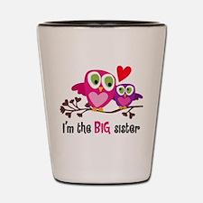 Big Sister Owl Shot Glass
