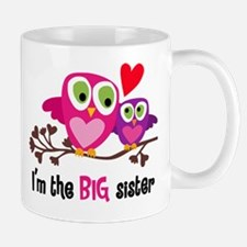 Big Sister Owl Mugs