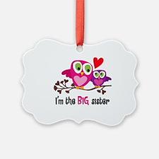 Big Sister Owl Ornament