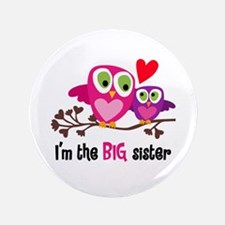 """Big Sister Owl 3.5"""" Button (100 Pack)"""