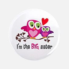 Big Sister Owl Button