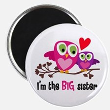 Big Sister Owl Magnets
