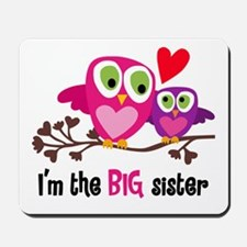 Big Sister Owl Mousepad