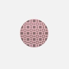 elegant floral pattern Mini Button