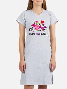 Little Sister Owl Women's Nightshirt