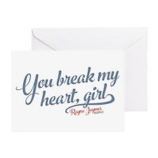 You Break My Heart Nashville Greeting Cards