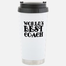 Worlds Best Coach Travel Mug