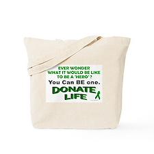 Donate Life Tote Bag