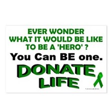 Donate Life Postcards (Package of 8)