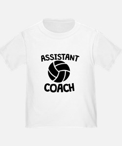 Assistant Volleyball Coach T-Shirt