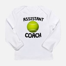 Assistant Tennis Coach Long Sleeve T-Shirt